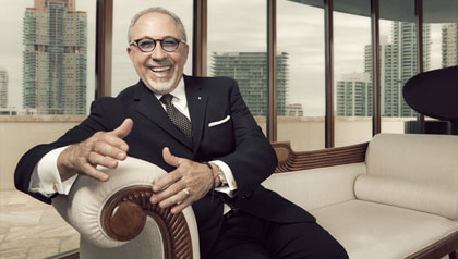 Emilio Estefan, AARP The Magazine Inspire Awards 2012 Honoree