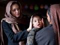 La activista política Angelina Jolie en Afganistán