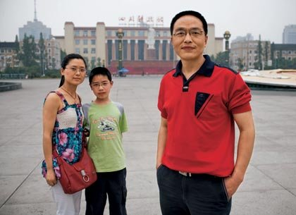 Snapshot of modern Chinese family