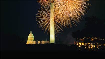 El 4 de Julio en Washington, D.C.