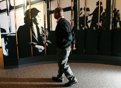 Exhibit on Civil Rights and Rosa Parks