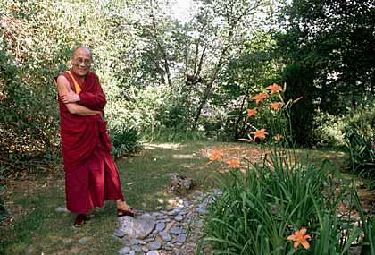 The Dalai Lama awarded the Nobel Peace Prize, 1989