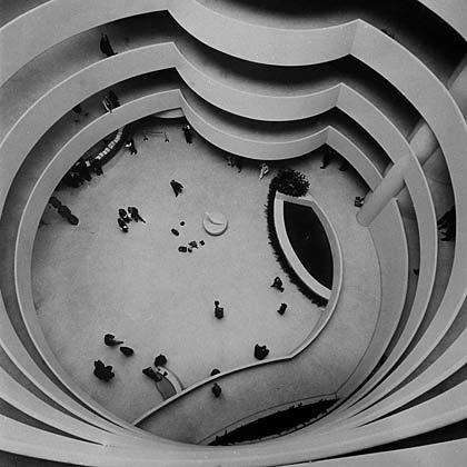 Guggenheim Museum designed by Frank Lloyd Wright opens, 1959.