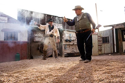 Reenactors at the OK Corral.