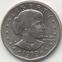 Susan B. Anthony dollar.