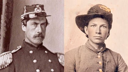 Two civil war soldiers and the innovative items and technology the war produced
