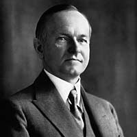 President Calvin Coolidge 30th president 1923