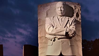 El monumento a Martin Luther King en Washington, D.C.