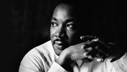 Civil Rights leader Dr. Martin Luther King, Jr.