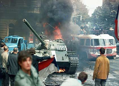 1968 Czechoslovakia invasion by Soviet Union