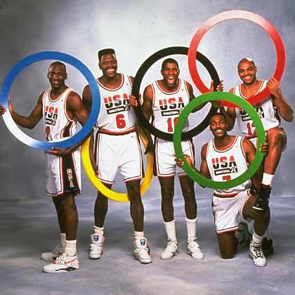 Dream Team, basketball players 1991