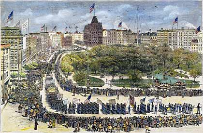 first Labor Day Parade 1882
