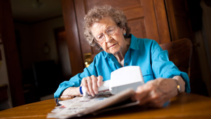 Lorraine Hawkinson, worries that the strict voter ID law will prevent older people from voting.