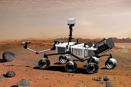 space exploration - NASA Curiosity rover