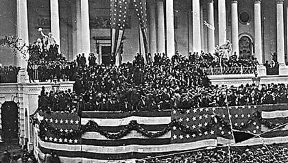 Usysses S. Grant Inauguration Ceremony
