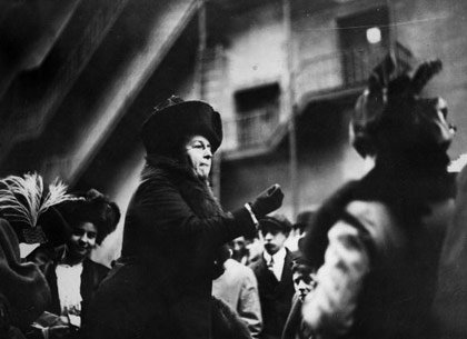 American suffragette leader Harriet Stanton Blatch