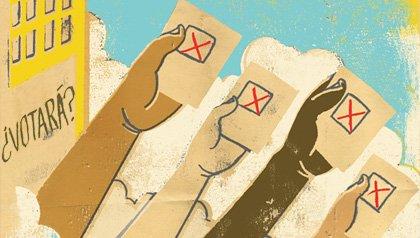 Hispanos y las elecciones