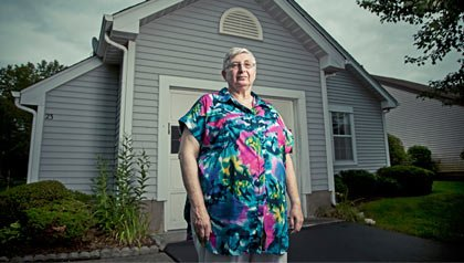 Rona Sutton successfully advocated for state lawmakers to reverse cuts they had made to the 'Senior Freeze' property tax relief program for low-income people over 65.