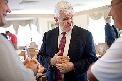Newt Gingrich: Candidatos republicanos para las elecciones del 2012