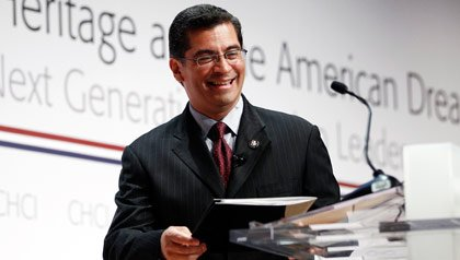 Rep. Xavier Becerra, Becerra smiling