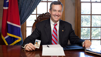 Tennessee Secretary of State Tre Hargett, voter ID