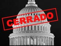 Gobierrno en Washington se cierra. Foto del Capitolio en Washington DC