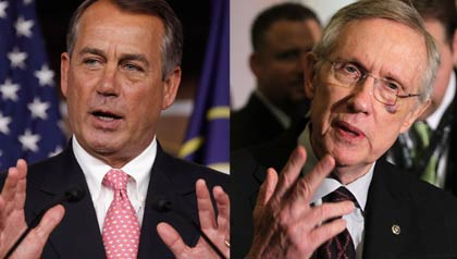 Senator Harry Reid and Speaker John Boehner speak about Medicare.