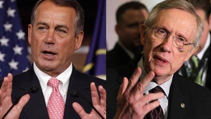 Senator Harry Reid and Speaker John Boehner speak about Medicare.