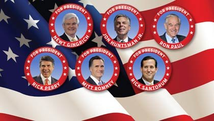 Republican Candidates for President 2012