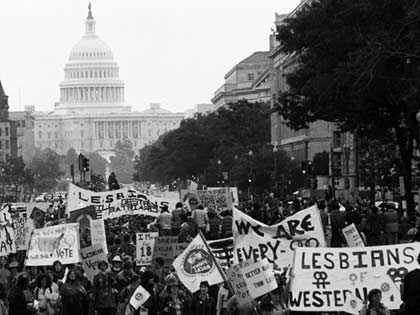 Gay and Lesbian March