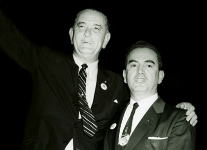 6b3bf7c24 Lyndon Johnson and Dr. Héctor García early 1960s