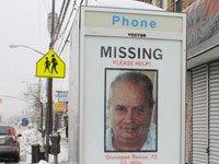 Personas mayores desaparecidas