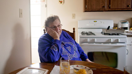 AARP and the Hunger Task Force are trying to find older people like Ruth Howell, who need food assistance.