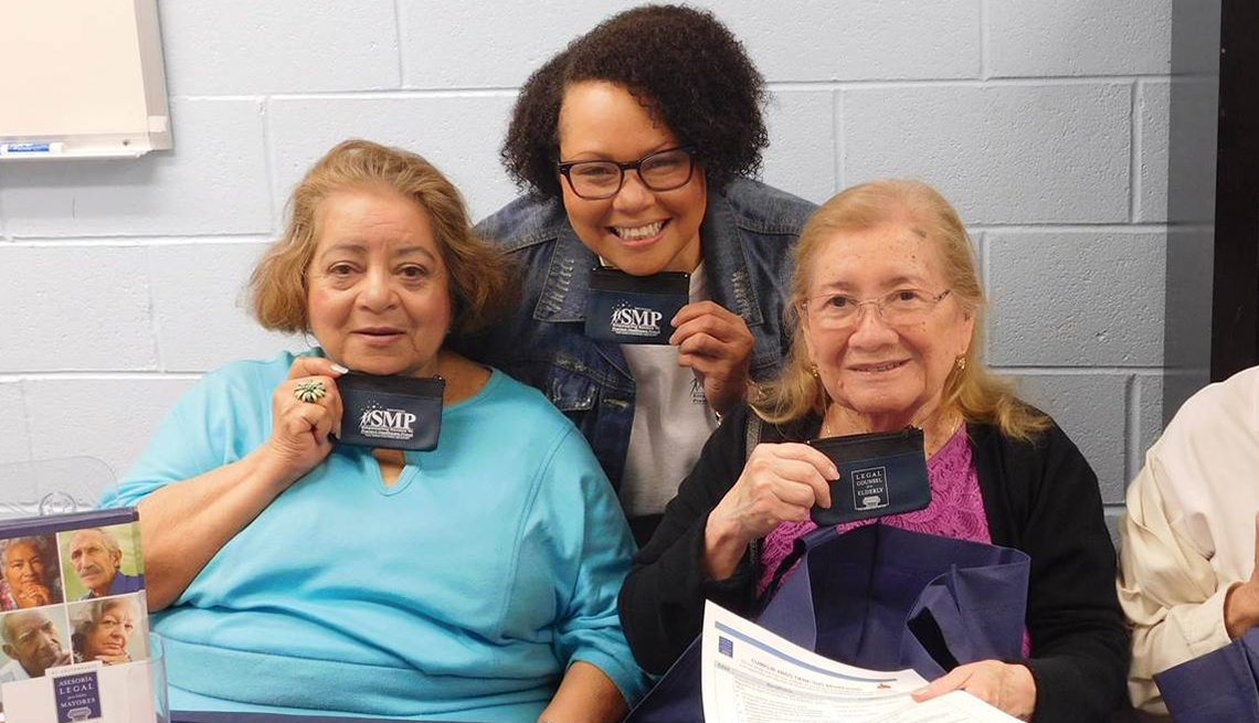 Women, AARP Legal Counsel for the Elderly, event