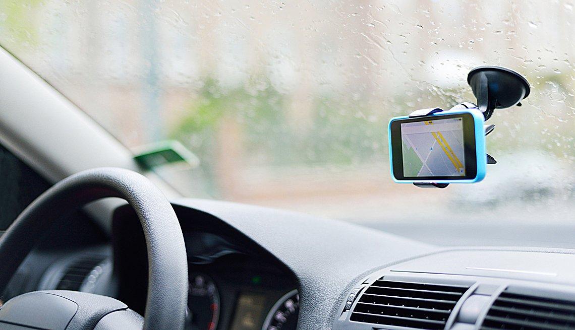 Car window smartphone mount