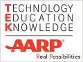 AARP TEK logo