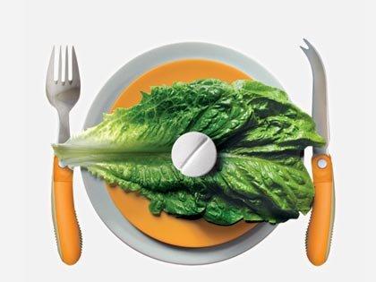 El mundo en el año 2020: comida dietética