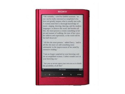 Libro electrónico de Sony