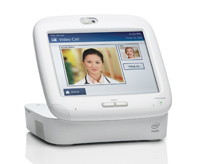 Care Innovations™ Guide is a computer that connects patients and healthcare professionals remotely