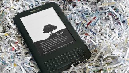 El lector electrónico de Amazon: Kindle