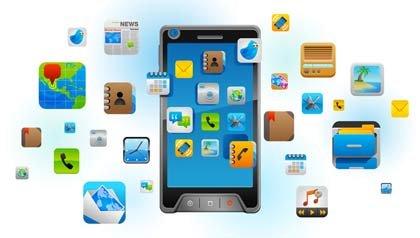 Muchas aplicaciones usadas en la vida diaria de un teléfono inteligente