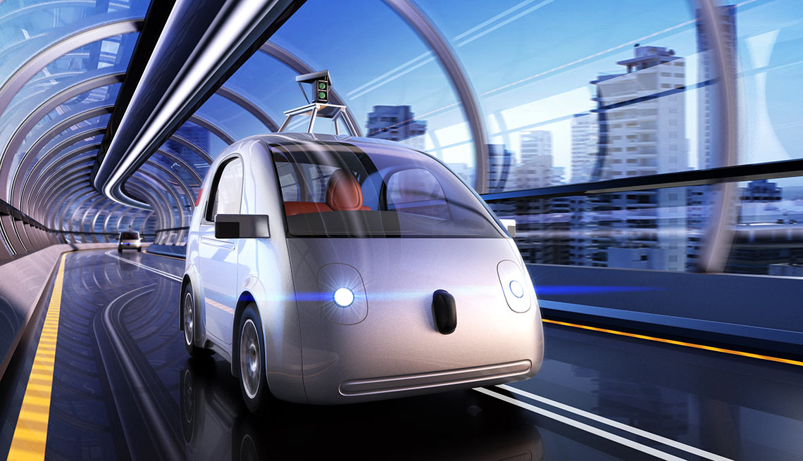 Google Self-Driving Car Perfect for Elderly Drivers