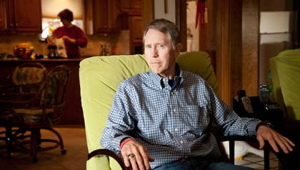 AARP Texas Smart Meter Privacy Concerns, man in chair
