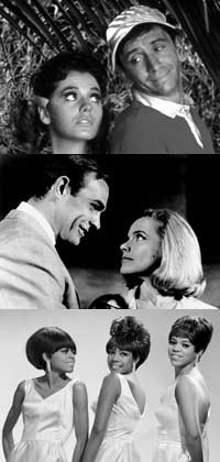 Gilligans Island, the Supremes and Goldfinger