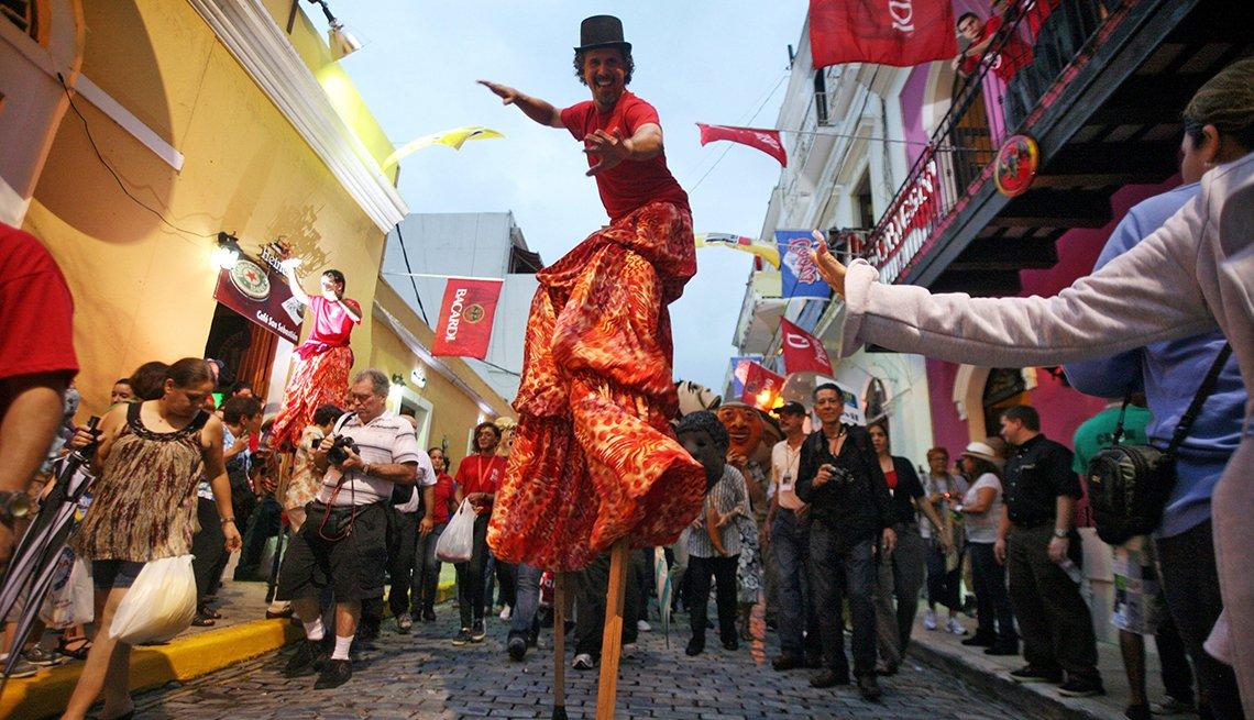 San Sebastian Street Festival, San Juan, Puerto Rico, Sunny Places to Go This Winter