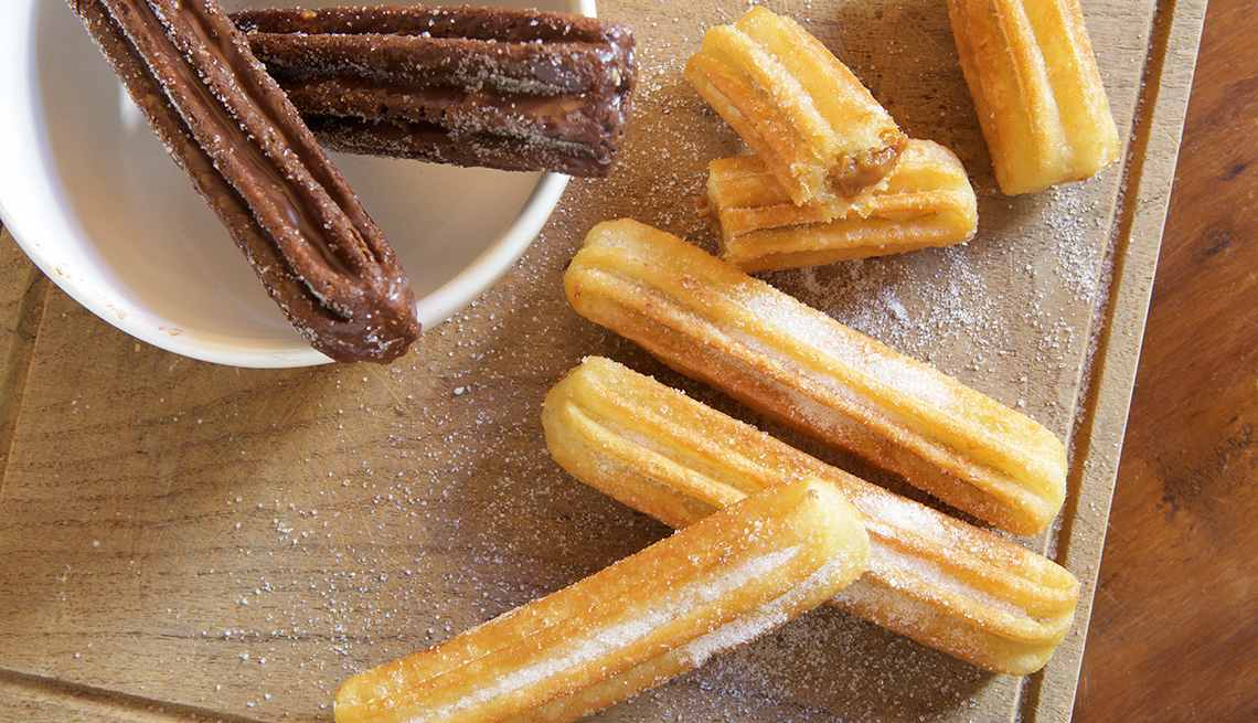 item 11 of Gallery image - Churros rellenos