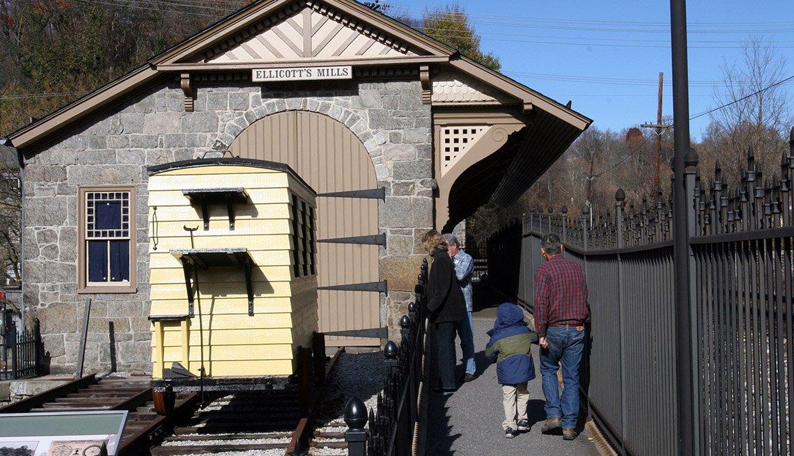 Estaciones de trenes históricas