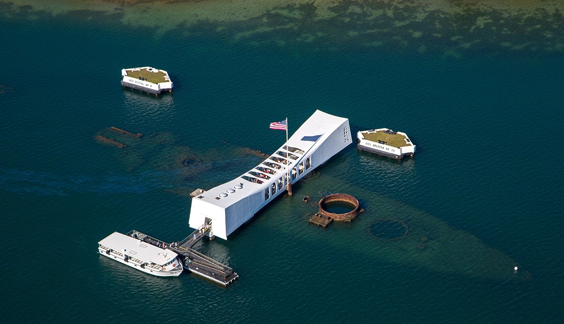 Pearl Harbor Memorial en Honolulu Hawaii