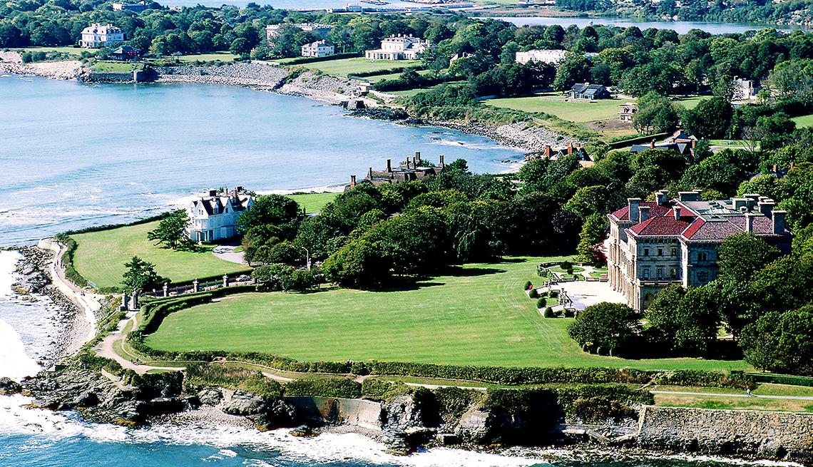 Newport, Rhode Island - 10 ciudades para los aficionados a la historia