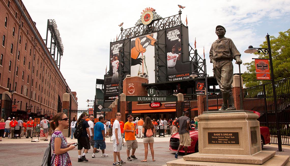 Estadios de béisbol emblemáticos de Estados Unidos - Camden Yards en Baltimore